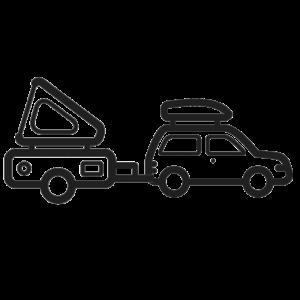 FOBO Tire 2 - Aanhanger/vouwwagen pakket - 6 Sensoren