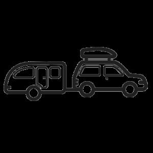 FOBO Tire 2 - caravan + auto pakket - 8 Sensoren
